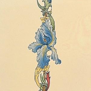 Плитка Stovax Blue Iris