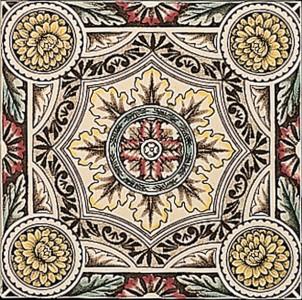 Stovax Symmetrical Floral Pattern
