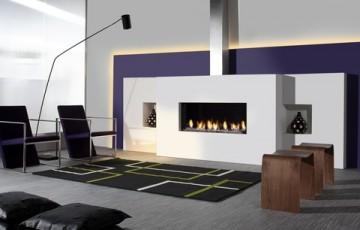 Газовый камин Faber Relaxed Premium L
