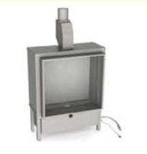 Газовый камин Vero Design Gala квадратная модель 80/80/45