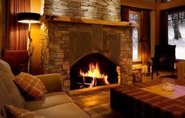 Современные дровяные камины – какие они и чем полезны?