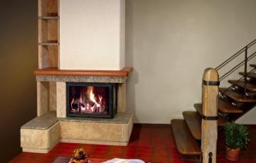 Классический дровяной камин Sunhill Vidzeme