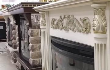 Виды и стили каминной облицовки