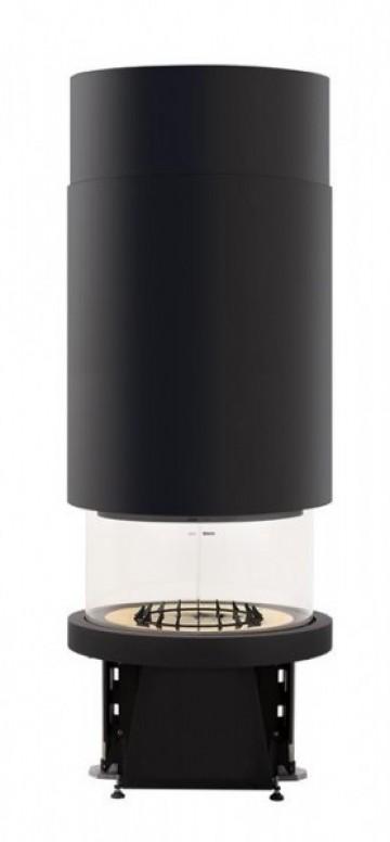 Каминная топка Piazzetta M 360 Т, цилиндрический купол