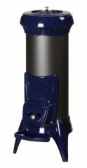 Печь-камин Invicta Sorel | голубая эмаль | эмаль слоновая кость