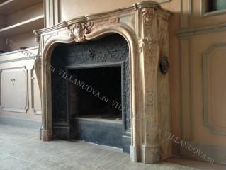 Камин антикварный мраморный (каминный портал) Villa Nuova B048754