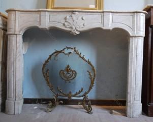 Камин антикварный мраморный (каминный портал) Villa Nuova B039764