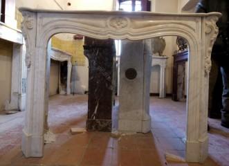 Камин антикварный мраморный (каминный портал) Villa Nuova B035173