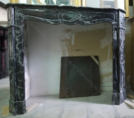 Камин антикварный мраморный (каминный портал) Villa Nuova B041106