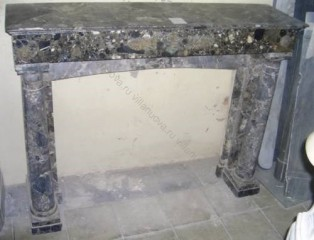Камин антикварный мраморный (каминный портал) Villa Nuova B026403