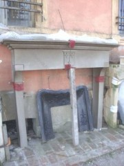 Камин антикварный каменный (каминный портал) Villa Nuova B030724