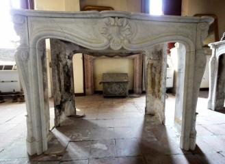 Камин антикварный мраморный (каминный портал) Villa Nuova B037441
