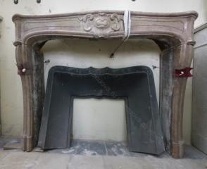 Камин антикварный мраморный (каминный портал) Villa Nuova B037923