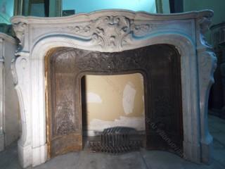 Камин антикварный мраморный (каминный портал) Villa Nuova B044270
