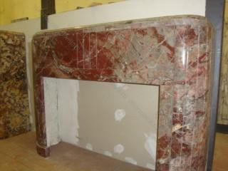 Камин антикварный мраморный (каминный портал) Villa Nuova B039976