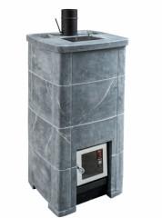 Банная печь Kastor Fero KS по - черному и белому «Smoky Steam»