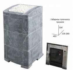 Банная печь Kastor Ksis 27 JK «Прима-люкс GT»
