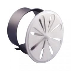 Решетка вентиляционная круглая, жалюзи регулируемые, D111 DIXNEUF