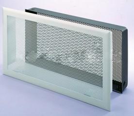 Решетка вентиляционная 33х25, горизонтальная, подрамник с фильтром DIXNEUF