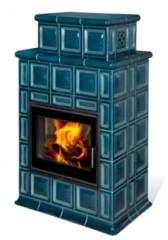 Печь-камин Hein Baracca OU керамика с теплообменником