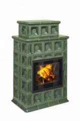 Печь-камин Hein Baracca 3N, 4N, 7N керамика с надстройкой