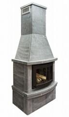Печь-камин FS7 облицовка