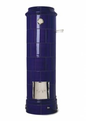 Печь-камин Keddy Christineberg, синий цвет