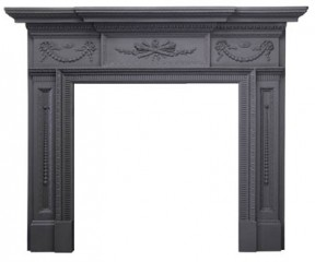 Чугунный портал Stovax William IV Cast Iron Mantel