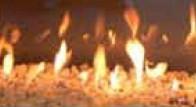 Зеркальный эффект огня на задней стенке каминной топки для NI G0