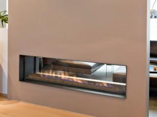 Туннель (стекло как с фронтальной так и с тыльной стороны) для закрытых газовых каминов Waco&Co