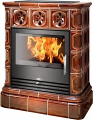 Печь-камин «ABX Skotia» кафельная облицовка