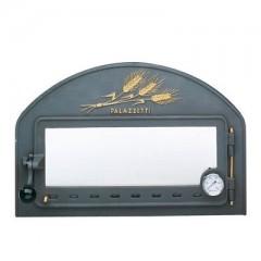 Чугунная дверца для духовки с керамическим стеклом Palazzetti