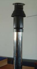 Коаксиальная труба-терминал для крыши для топок Faber