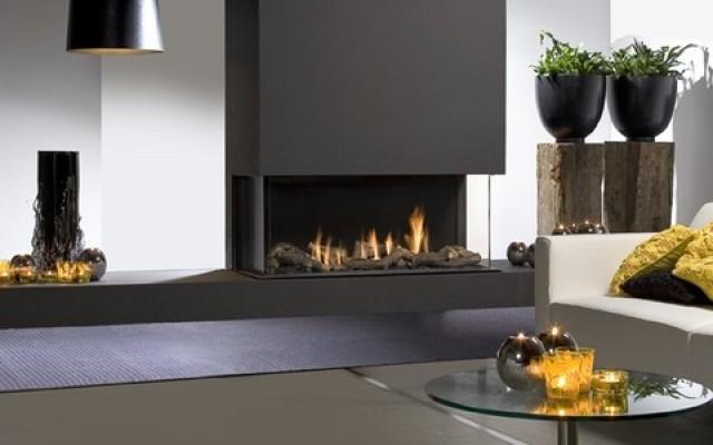 Газовый камин Faber Triple Premium L