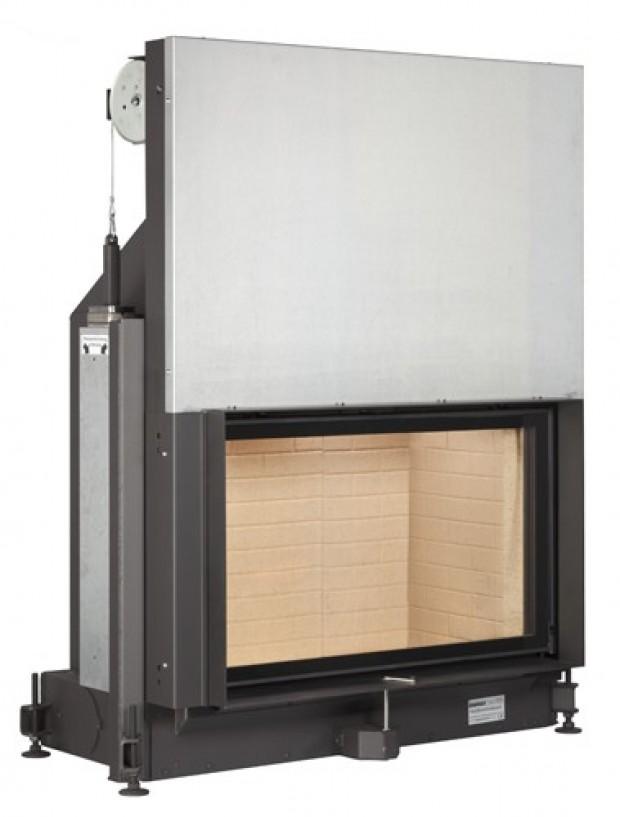 Каминная топка Brunner Stil-Kamin 53/88 lifting door, single glazing