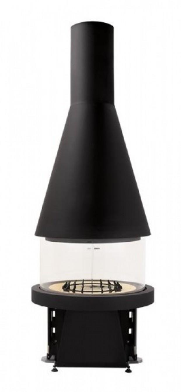 Каминная топка Piazzetta M 360 Т, конический купол
