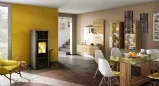Печь-камин Spartherm Ambiente A7 цвет талькохлорит