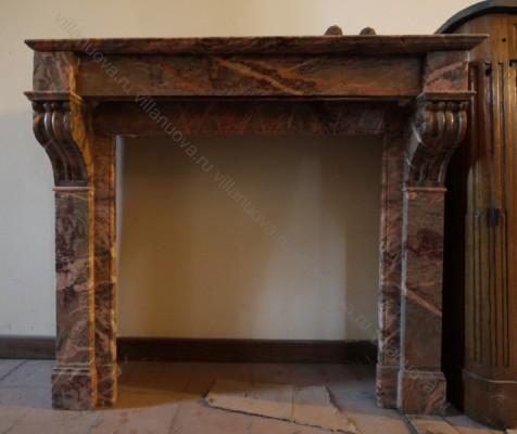 Камин антикварный мраморный (каминный портал) Villa Nuova B028464