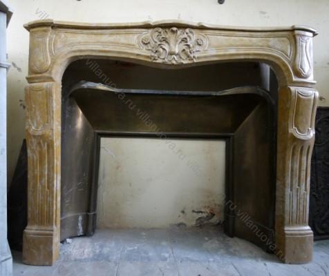 Камин антикварный мраморный (каминный портал) Villa Nuova B017534