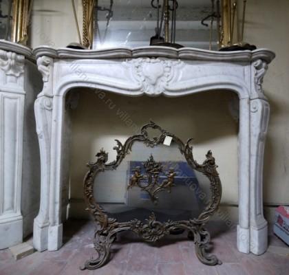 Камин антикварный мраморный (каминный портал) Villa Nuova B029024