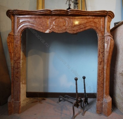Камин антикварный мраморный (каминный портал) Villa Nuova B014934