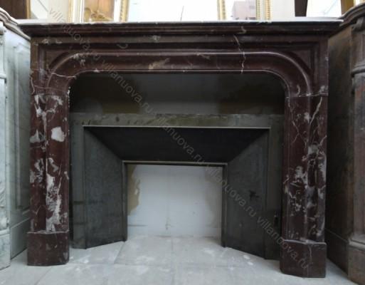 Камин антикварный мраморный (каминный портал) Villa Nuova B034374