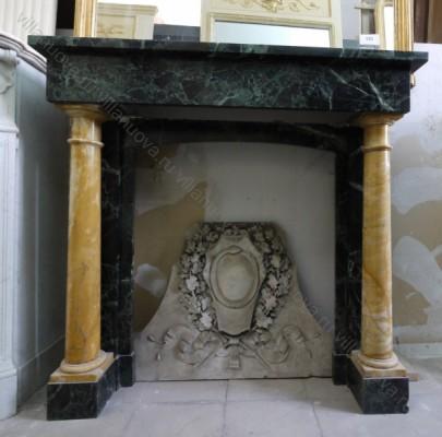Камин антикварный мраморный (каминный портал) Villa Nuova B017045