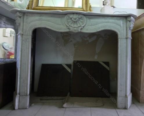 Камин антикварный мраморный (каминный портал) Villa Nuova B024366