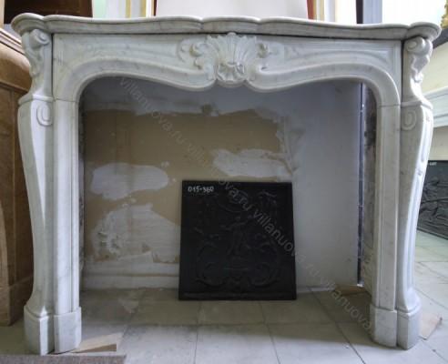 Камин антикварный мраморный (каминный портал) Villa Nuova B040786