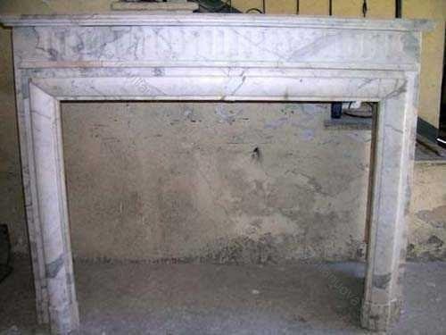 Камин антикварный мраморный (каминный портал) Villa Nuova B019703