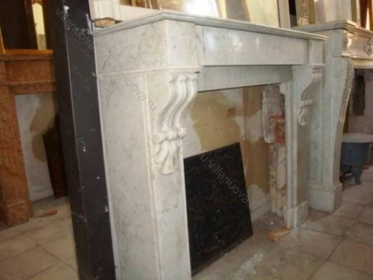Камин антикварный мраморный (каминный портал) Villa Nuova B038676