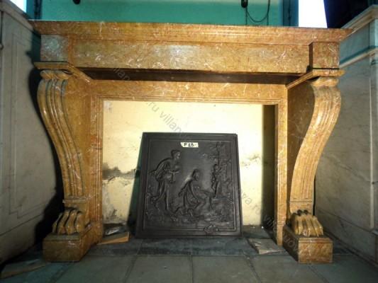 Камин антикварный мраморный (каминный портал) Villa Nuova B043811