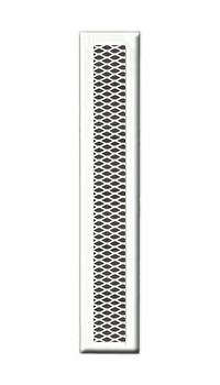 Решетка вентиляционная 1000х130, без подрамника, прямоугольная DIXNEUF