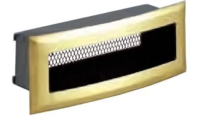 Решетка вентиляционная 18х7, с подрамником, радиусная DIXNEUF